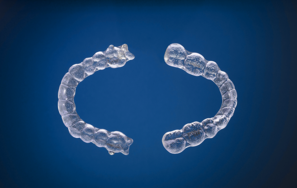 Clear retainers from Invisalign