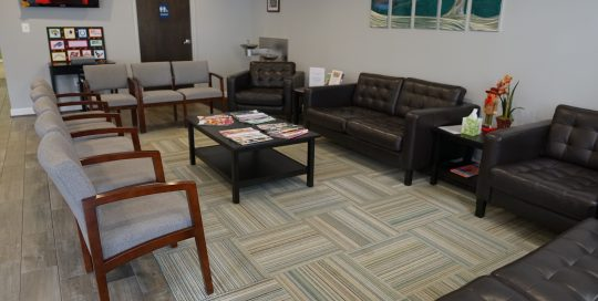 Waiting Area - Khouri Orthodontics