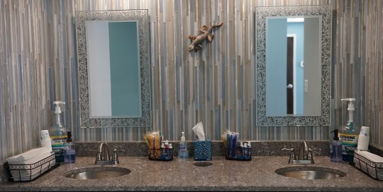 Toothbrush Area - Khouri Orthodontics